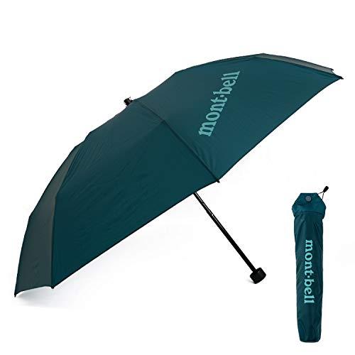 [モンベル] mont-bell 傘 6色 折りたたみ傘 エアライトナイロン トレッキングアンブレラ 10デニール 折り畳み傘 8本骨 アウトドア 雨傘 雨具 1128551 (05 ダークマラード)