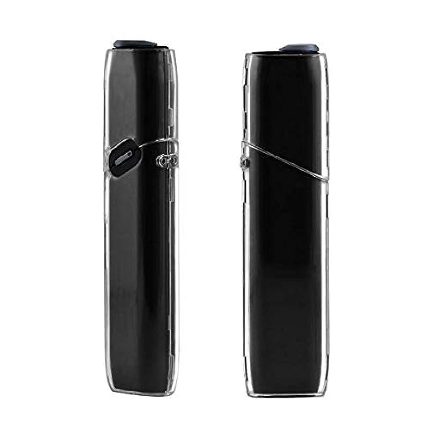 モック暴徒草IQOS3 MULTI アイコス 3 マルチ ハード クリア ケース シンプル カバー 透明 無地 ポリカーボネート製 アイコススリーマルチ 電子タバコ 保護ケース