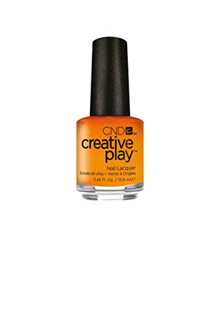 静かな見る人皮肉なCND Creative Play Lacquer - Apricot in the Act - 0.46oz / 13.6ml