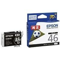(業務用5セット) EPSON エプソン インクカートリッジ 純正 〔ICBK46〕 5個 ブラック(黒) 〔×5セット〕