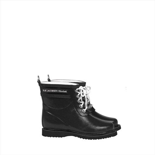 CLASSIC RUBBER BOOTS SHORT (クラッシック ラバーブーツ ショート) (EU38(24.5~25cm), 01 BLACK ブラック)