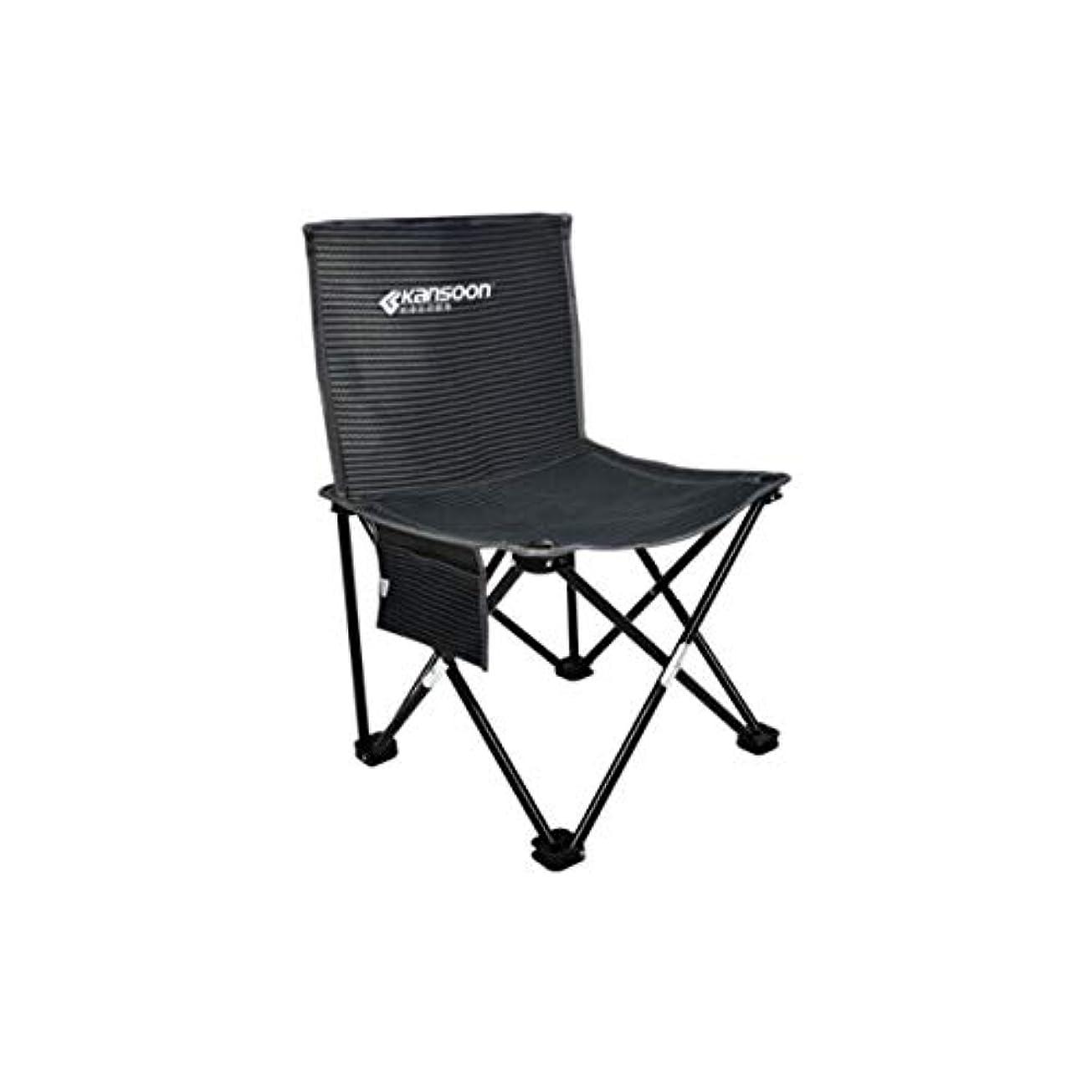 表示舌な温度計KEHUITONG ポータブル折りたたみ椅子、小さなスツール、シンプルな釣り椅子、アウトドアレジャーマザール、ビーチチェア、40×40×64センチ (Edition : A)