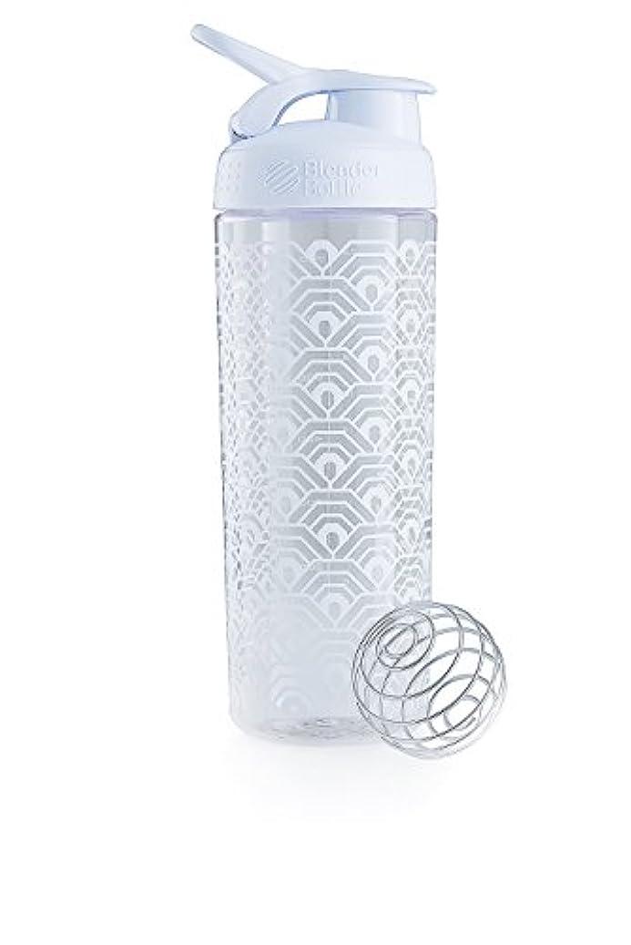 コーヒー検出先行するブレンダーボトル 【日本正規品】 ミキサー シェーカー ボトル Sports Mixer 28オンス (800ml) クラムシェルホワイト BBSMSL28 CLWH