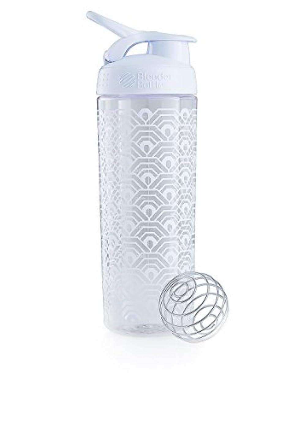 が欲しい雪ずらすブレンダーボトル 【日本正規品】 ミキサー シェーカー ボトル Sports Mixer 28オンス (800ml) クラムシェルホワイト BBSMSL28 CLWH