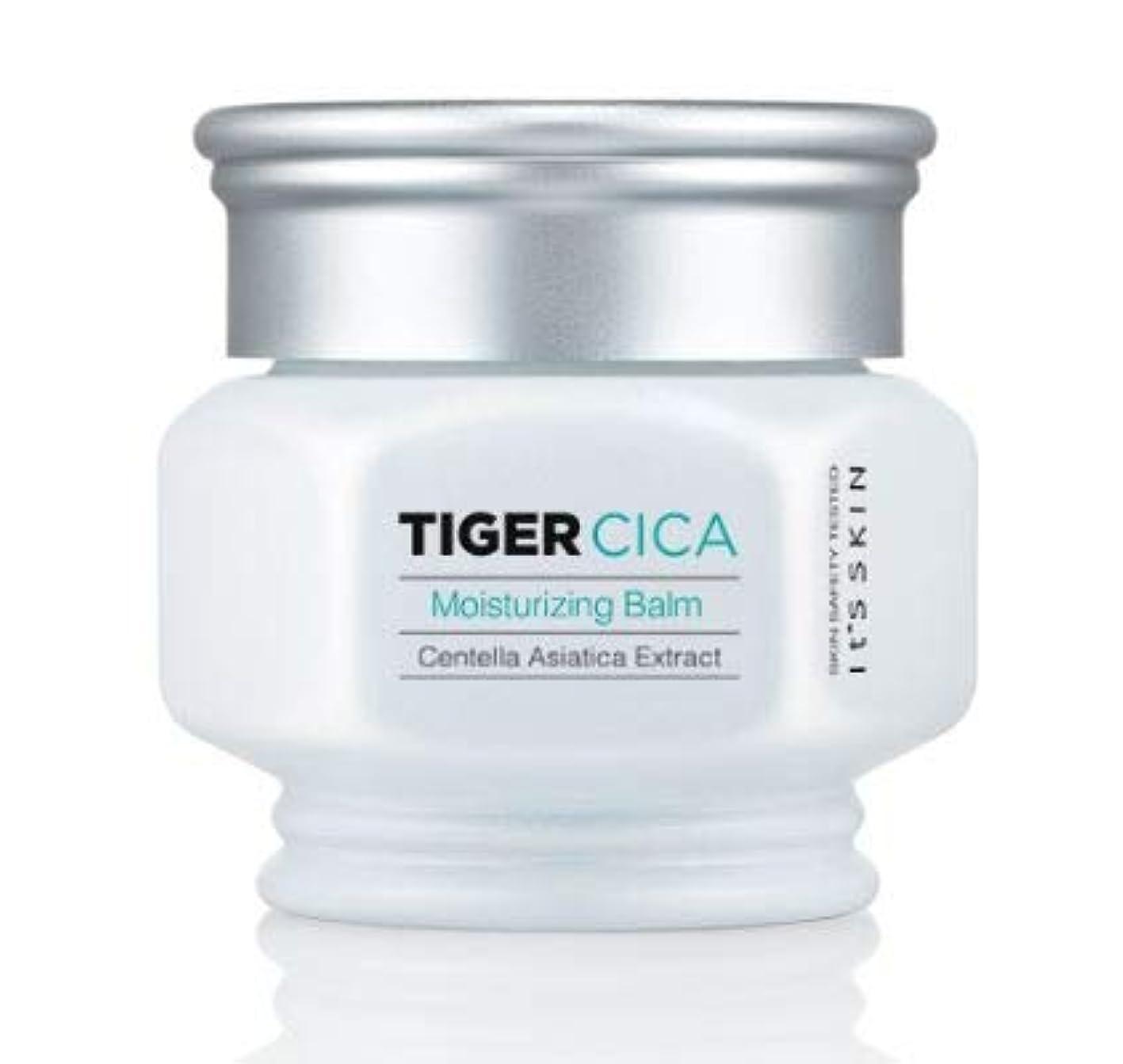 スーパーカール踏みつけ[It's Skin] Tiger Cica Moisturizing Balm 50ml /[イッツスキン] タイガーシカ モイスチャライジング バーム 50ml [並行輸入品]