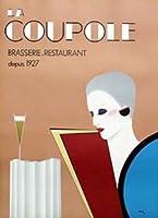 ポスターラッツィア La Coupole 額装品 ウッドベーシックフレーム(オフホワイト)