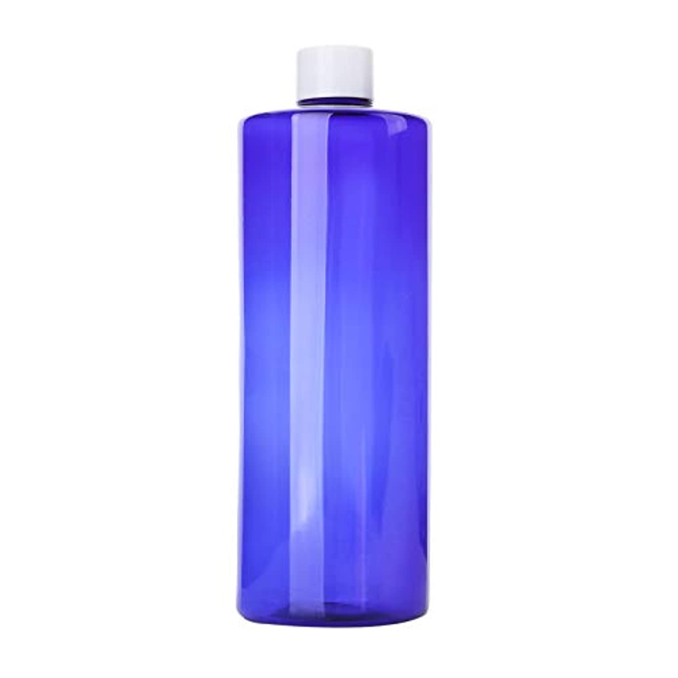 呼吸する乳に沿って1本 化粧品用 詰め替えボトル 詰め替え容器 大容量 500ml 中栓付き 使いやすい 化粧水用 シャンプー クリーム 貯蔵用 携帯用 空容器 おしゃれ 白ヘッド ブルー