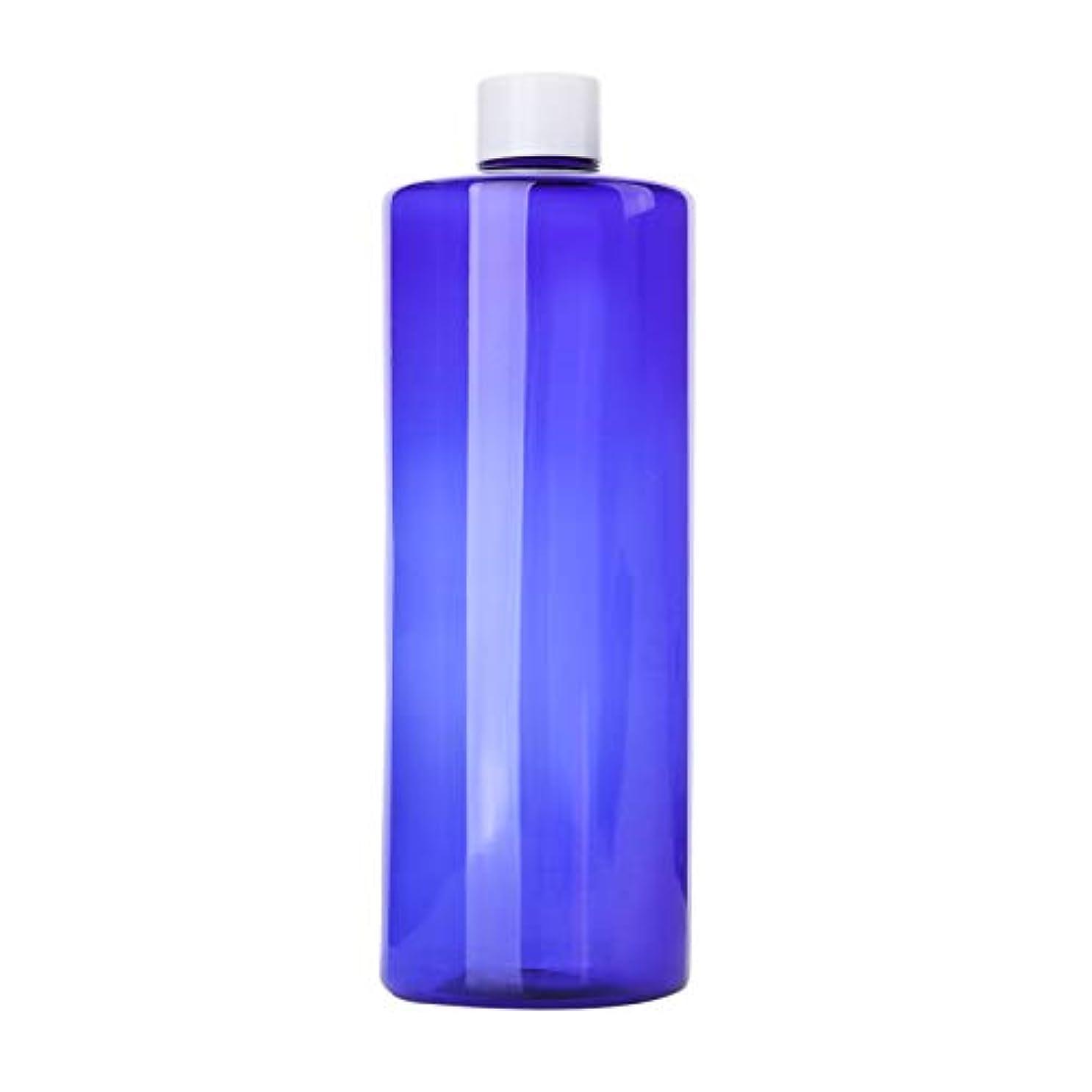スピーカー重要なフライト1本 化粧品用 詰め替えボトル 詰め替え容器 大容量 500ml 中栓付き 使いやすい 化粧水用 シャンプー クリーム 貯蔵用 携帯用 空容器 おしゃれ 白ヘッド ブルー