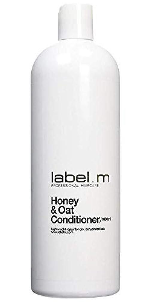 いらいらさせる繊毛乱気流Label MHoney & Oat Conditioner (For Dry, Dehydrated Hair) 1000ml/33.8oz【海外直送品】