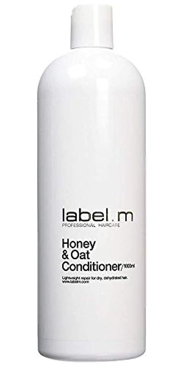 助けになる地平線果てしないLabel MHoney & Oat Conditioner (For Dry, Dehydrated Hair) 1000ml/33.8oz【海外直送品】