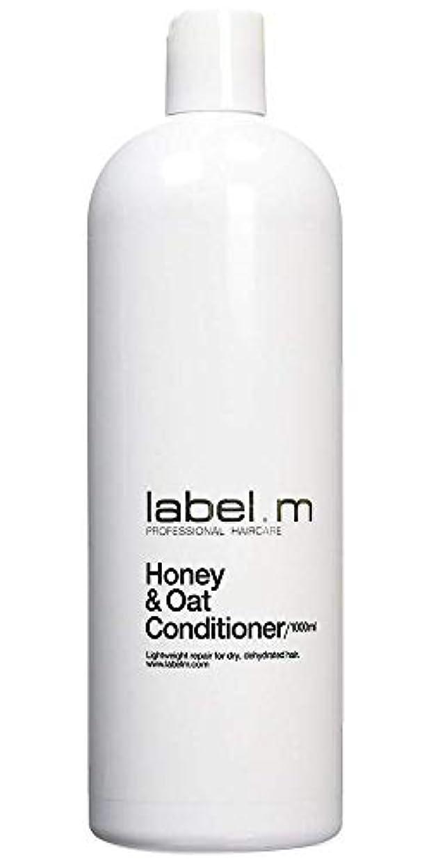 奨学金インカ帝国合併Label MHoney & Oat Conditioner (For Dry, Dehydrated Hair) 1000ml/33.8oz【海外直送品】