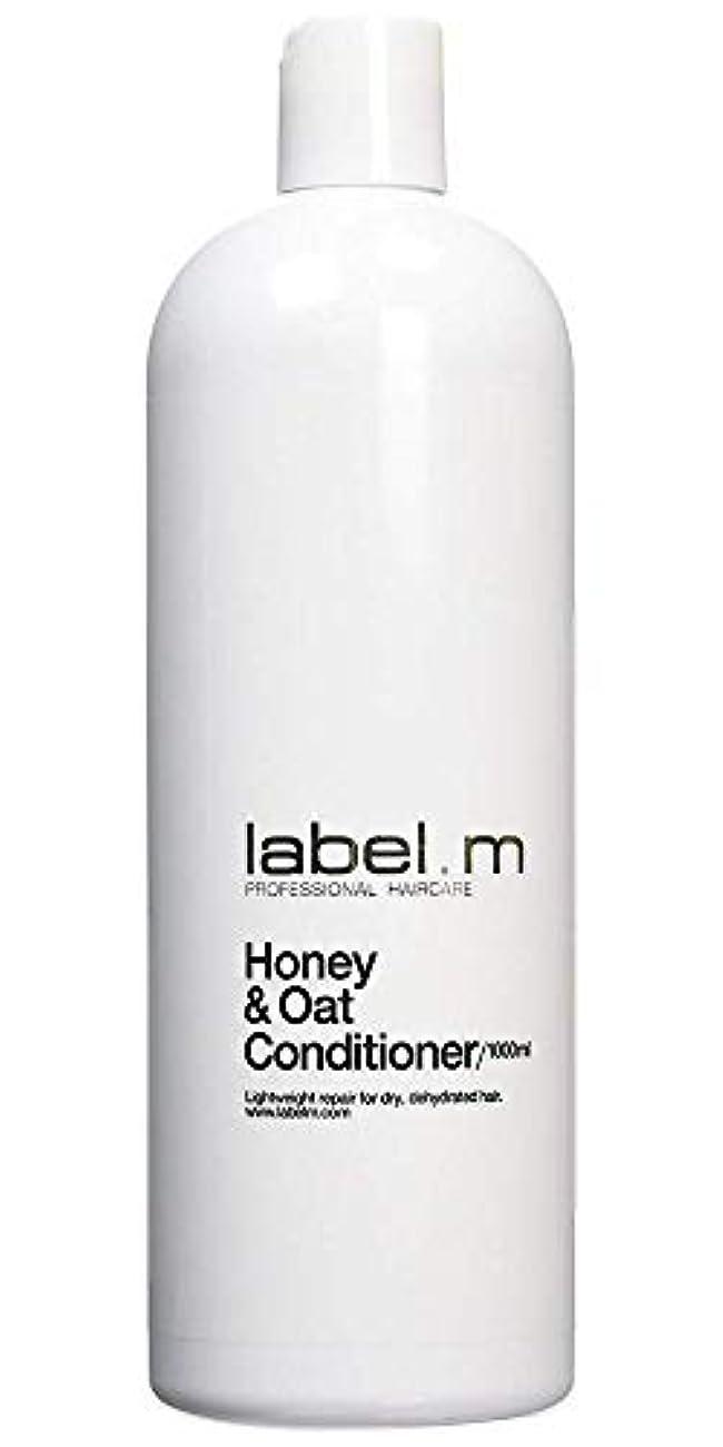 交流するすることになっているネイティブLabel MHoney & Oat Conditioner (For Dry, Dehydrated Hair) 1000ml/33.8oz【海外直送品】