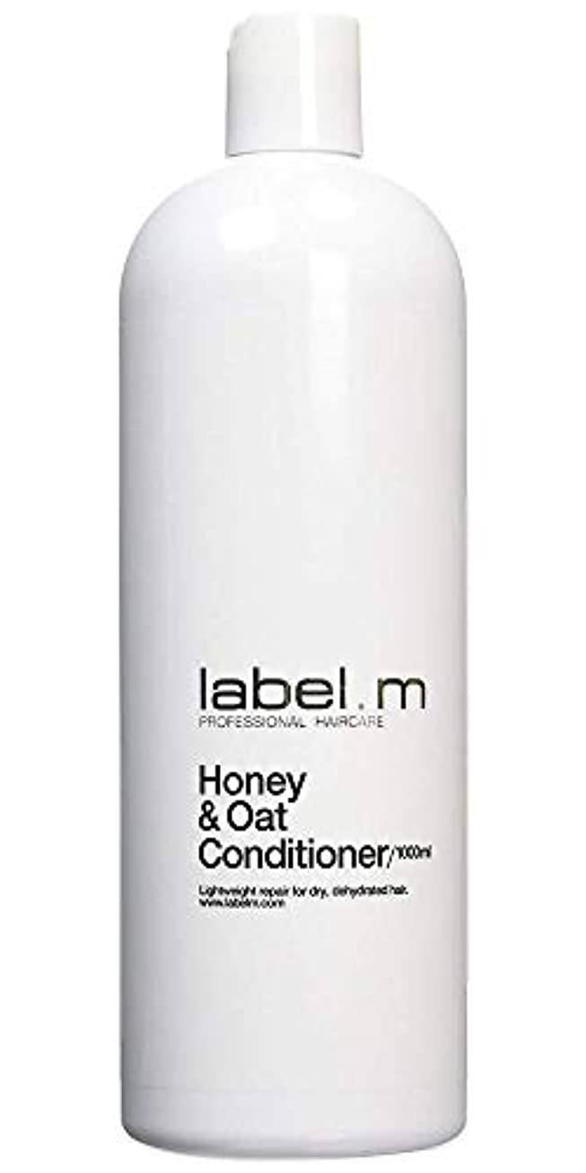 Label MHoney & Oat Conditioner (For Dry, Dehydrated Hair) 1000ml/33.8oz【海外直送品】
