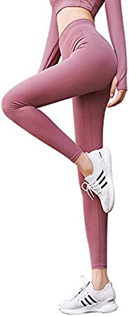 CINYO Women's Sweat Wicking Quick Dry Stretch Yoga Pants High Waist Sports Compression Leggings Fitness Fo
