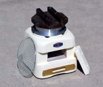 炊飯兼用七輪 5合炊き 能登産☆天然珪藻土しちりん 切り出し七・・・