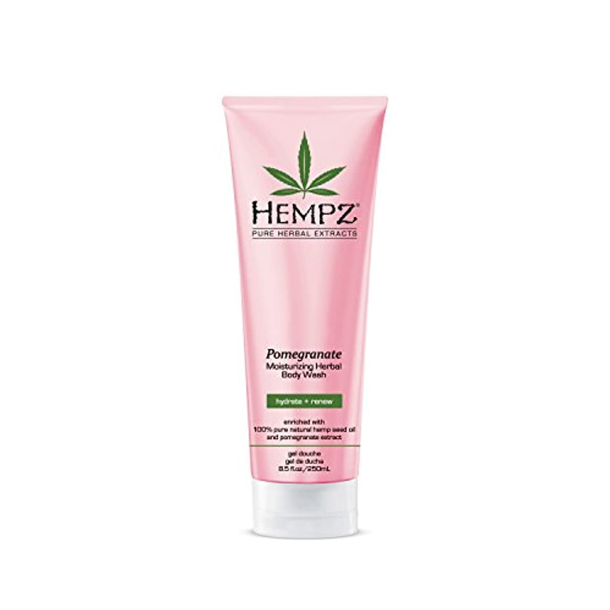配列テメリティ規範by Hempz POMEGRANATE HERBAL BODY WASH 8.5 OZ by HEMPZ
