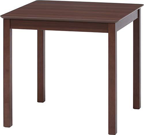 不二貿易(Fujiboeki) ダイニングテーブル ブラウン 幅75×奥行75cm モルト 98816