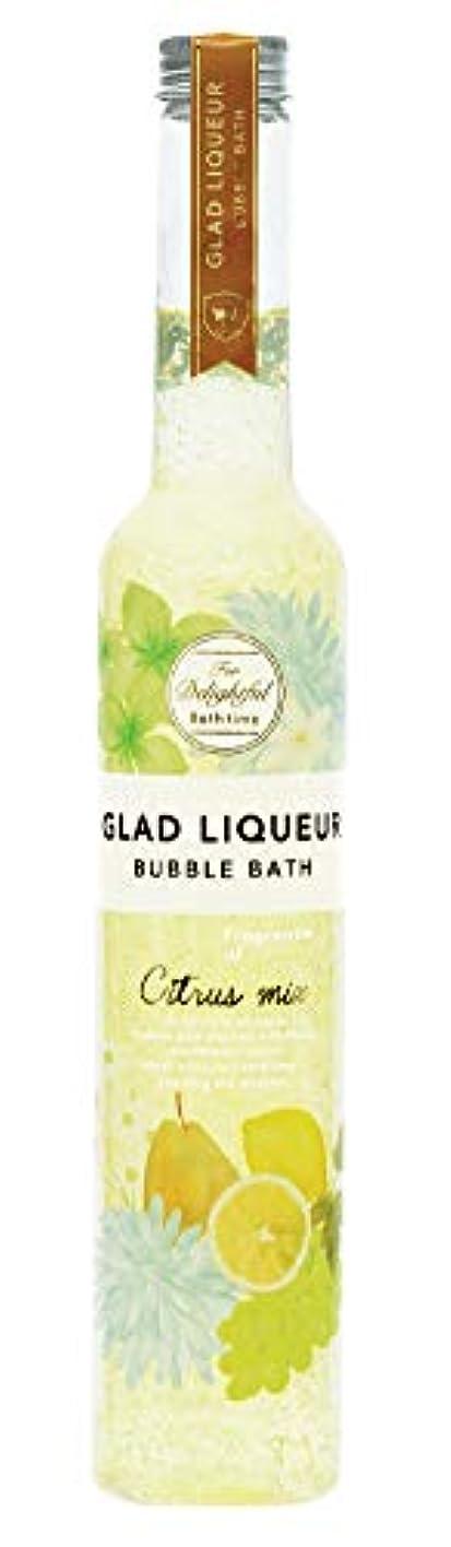 テレビ愛情ちょうつがいノルコーポレーション バスジェル グラッドリキュールバブルバス GLR-2-1 入浴剤 シトラスミックスの香り 500ml
