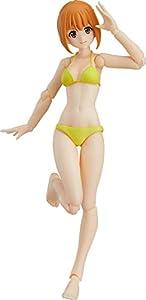 figma 水着女性body [エミリ] TYPE2 ノンスケール ABS&PVC製 塗装済み可動フィギュア