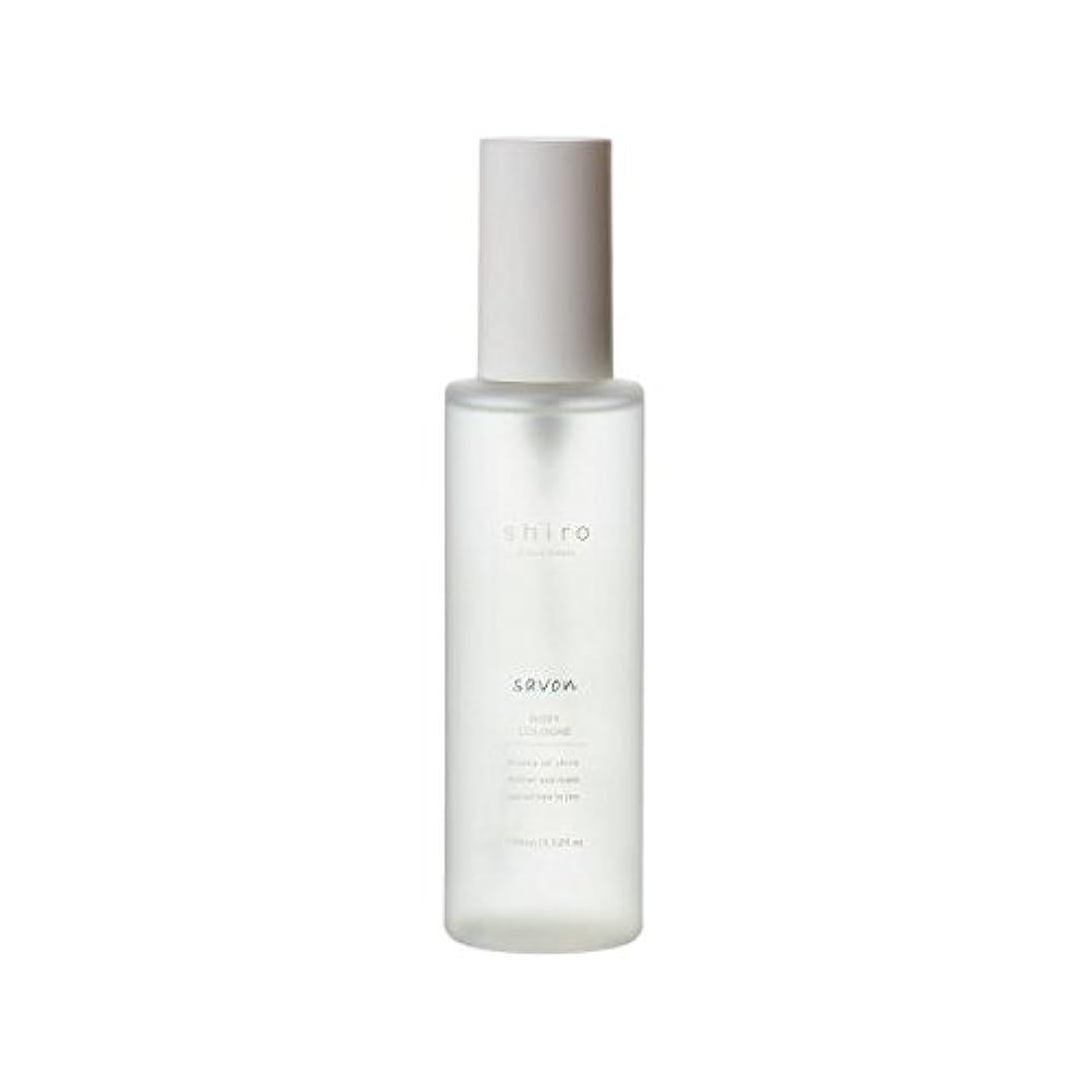 背骨背骨アラブ人shiro サボン ボディコロン 100ml 清潔で透明感のある自然な石けんの香り ミスト シロ