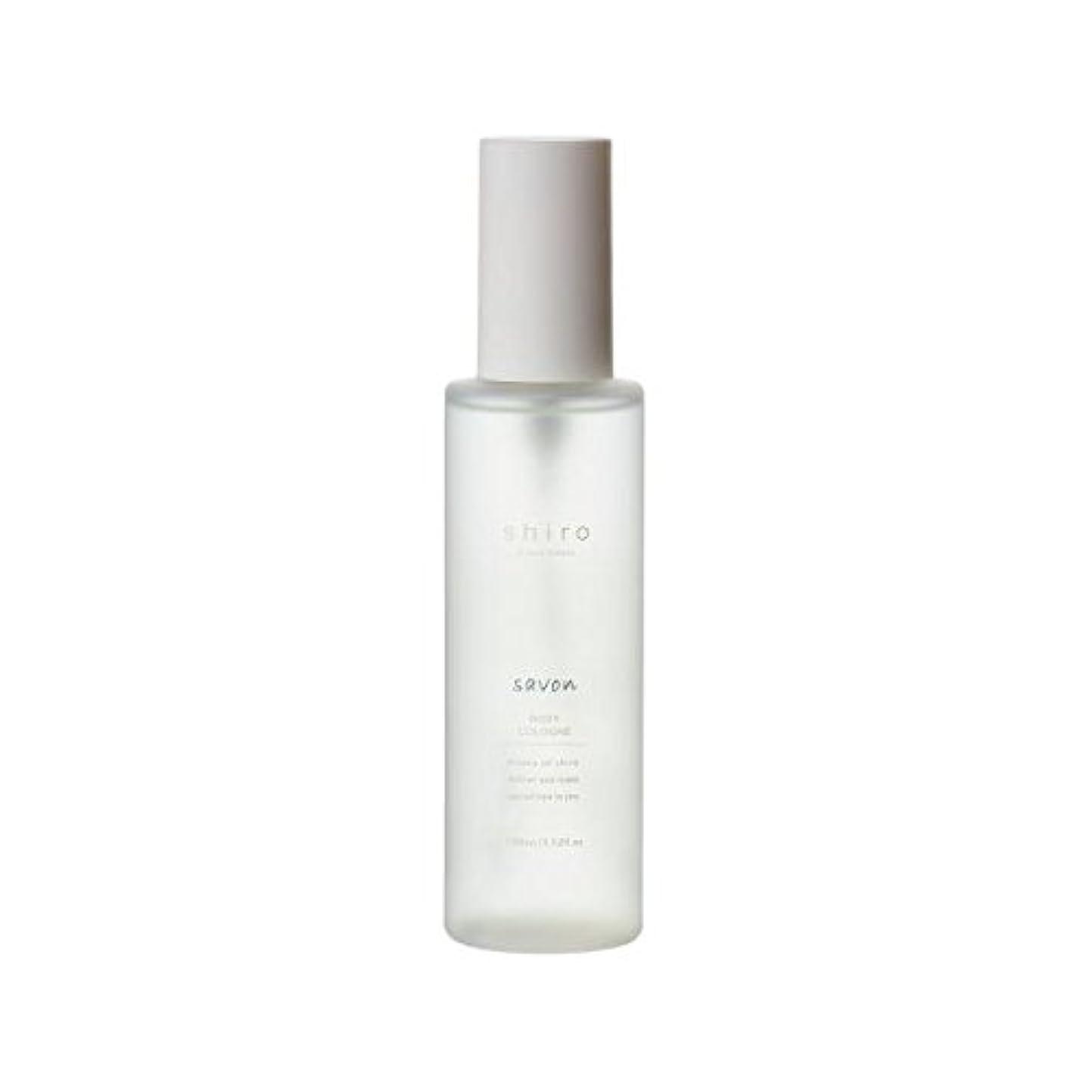 朝の体操をする栄光気まぐれなshiro サボン ボディコロン 100ml 清潔で透明感のある自然な石けんの香り ミスト シロ