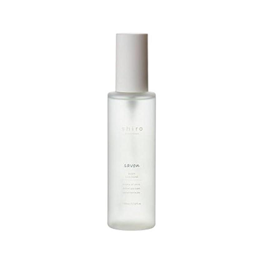 強化まだフローティングshiro サボン ボディコロン 100ml 清潔で透明感のある自然な石けんの香り ミスト シロ
