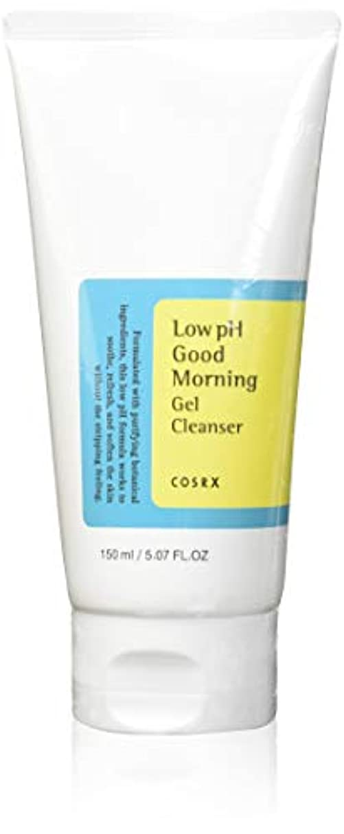人気のスリラー赤(3 Pack) COSRX Low pH Good Morning Gel Cleanser (並行輸入品)