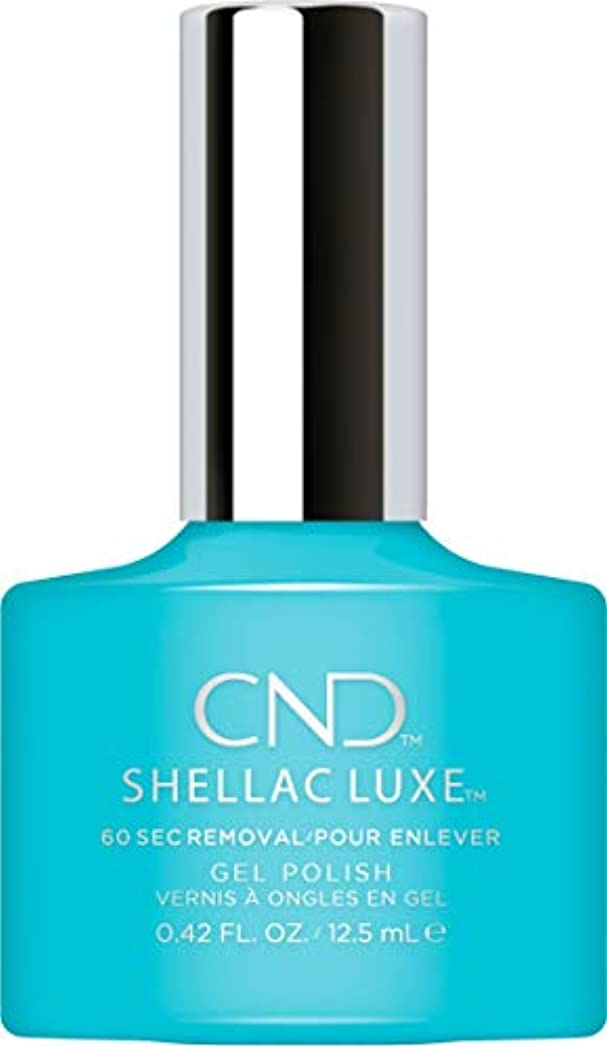 ペック前に定常CND Shellac Luxe - Aqua-intance - 12.5 ml / 0.42 oz