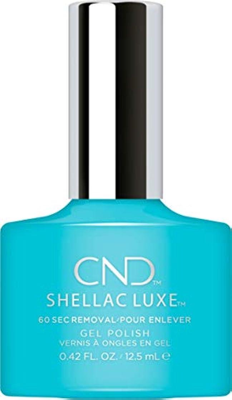 ウォーターフロントリアル大工CND Shellac Luxe - Aqua-intance - 12.5 ml / 0.42 oz