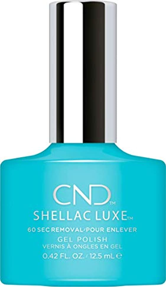 米国ダーツ添加CND Shellac Luxe - Aqua-intance - 12.5 ml / 0.42 oz
