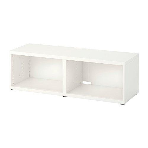 BESTÅ テレビ台, ホワイト, 120x40x38 cm