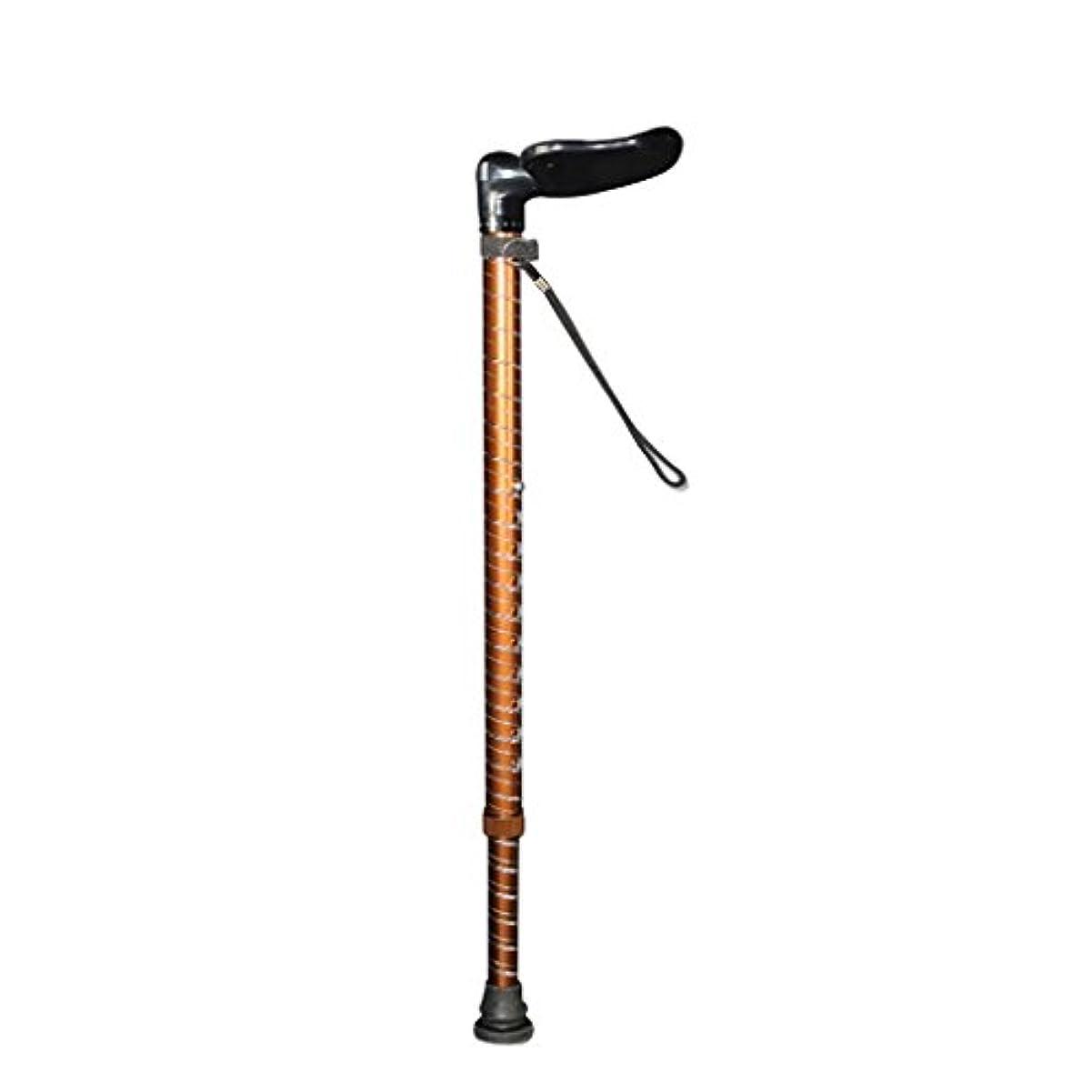 希少性ドキュメンタリー誤ってWENJUN 調整可能なリトラクタブルアンチショック耐久性のある高齢者専用松葉杖滑り止め肘掛け多機能援助アルミニウム合金を助ける歩行スティック