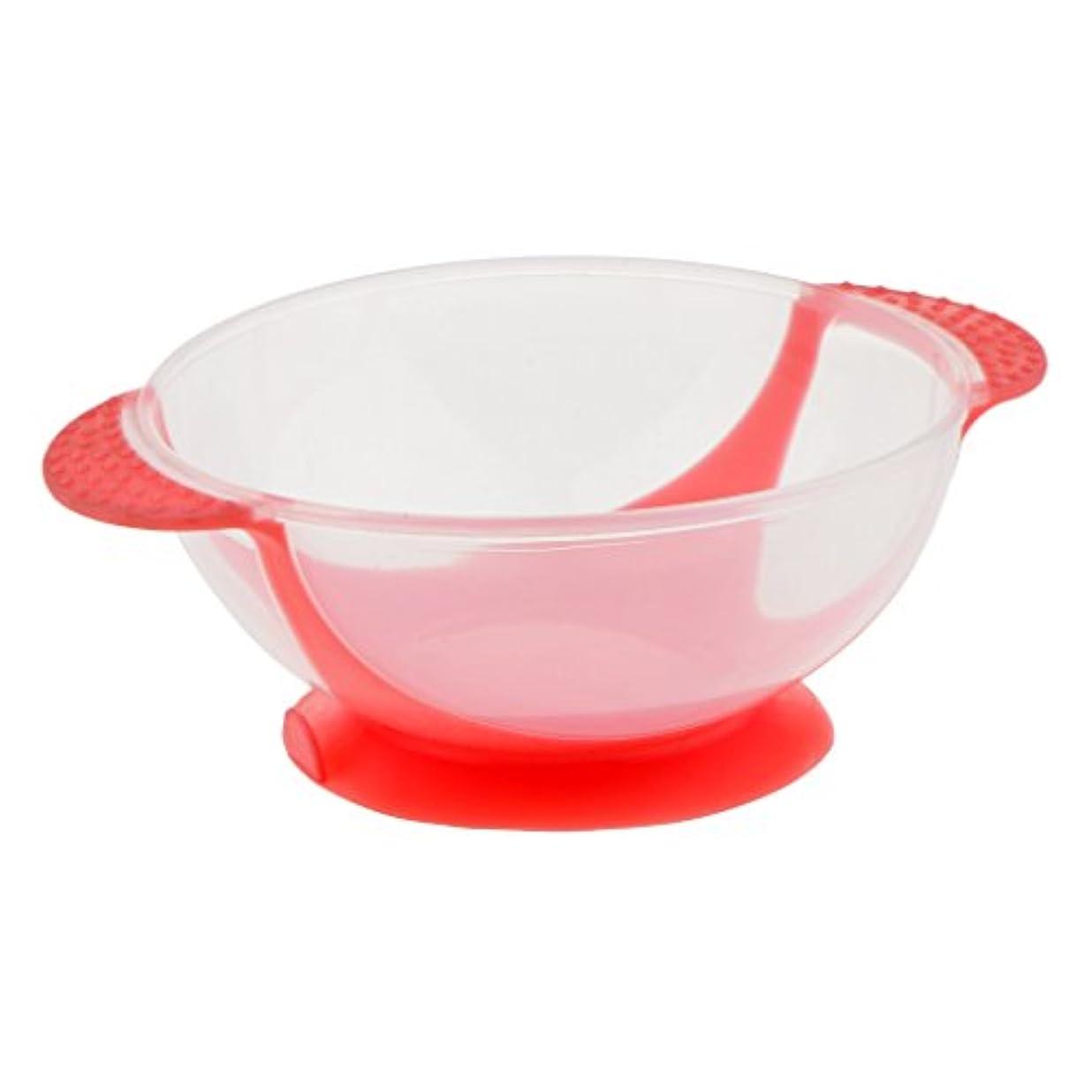 パックアリ溶けるヘアダイボウル ヘアカラー ヘアカラーカップ 髪染め おしゃれ染め プロ 3色選べる - ピンク