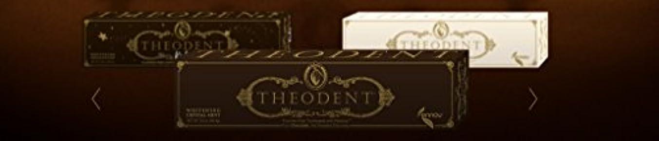 音声果てしない注釈Theodent Toothpaste - Flouride Free - Luxury - Mint Classic - 3.4 oz