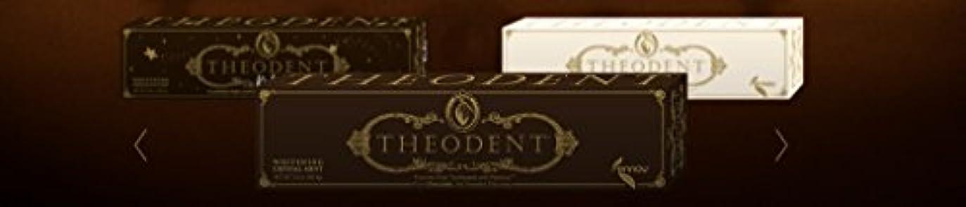 地震スモッグTheodent Toothpaste - Flouride Free - Luxury - Mint Classic - 3.4 oz