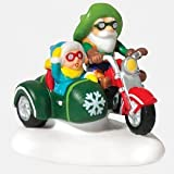 Department 56 North Pole Motorcycle Test Drive by Department 56