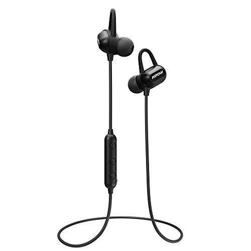 Mpow S9 Bluetooth イヤホン マグネット ヘッドセット apt-X/AAC対応 9時間再生 iPX6防水 搭載 220時間待機 低音重視 ステレオ ブルートゥース ヘッドホン 無線 高音質 iphone/iPad/ipod/Huawei/Samsung/Sony Xperia各機種対応 技適認証済み 18ヶ月間保証