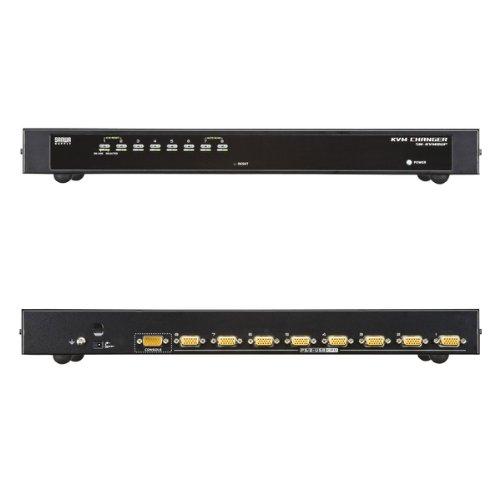 サンワサプライ PS/2 USB両対応パソコン自動切替器(8:1) SW-KVM8UP