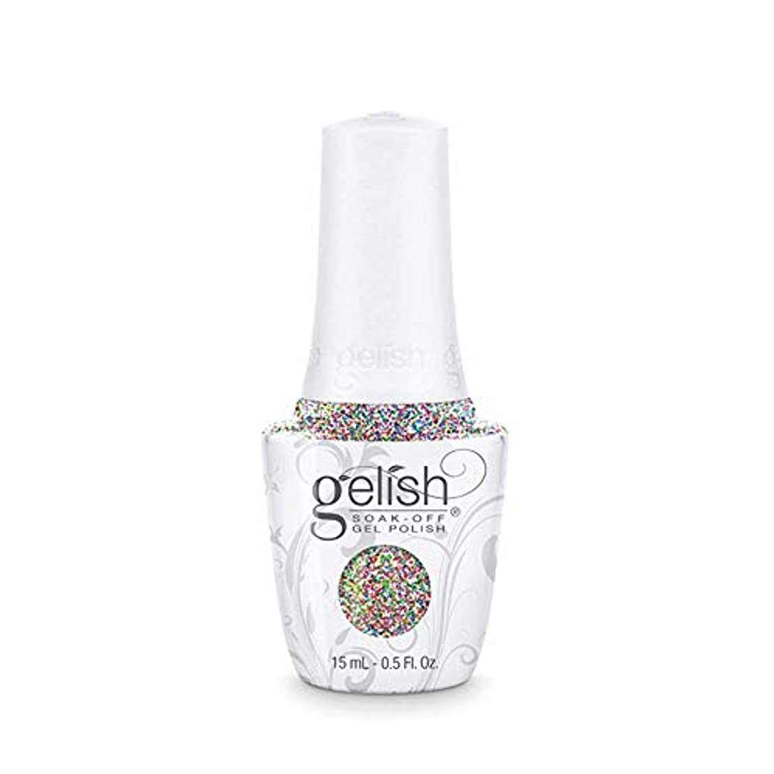 消費者不道徳ドレスHarmony Gelish - Lots Of Dots - 0.5oz / 15ml