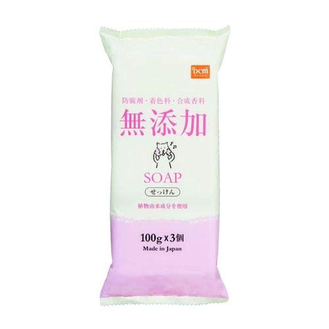 無添加固形石鹸 100g×3