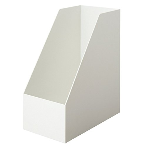 無印良品 【まとめ買い】ポリプロピレンスタンドファイルボックス・ワイドA4用・ホワイトグレ 6個セット