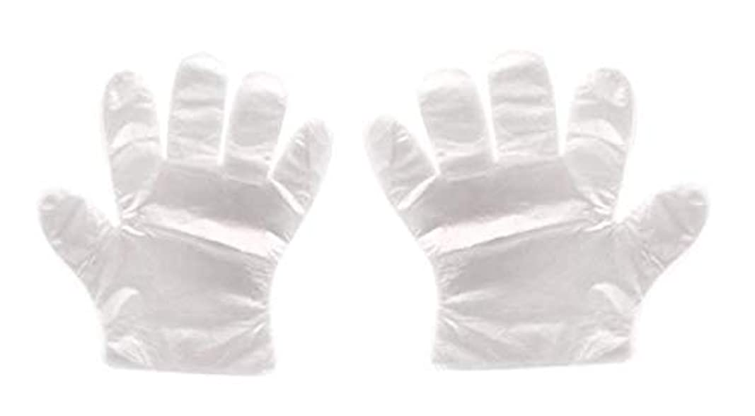 中毒ガロン解放(クリエイトnema)使い捨て手袋 極薄ビニール手袋 ポリエチレン 透明 実用 衛生 枚数選べる (800枚セット)
