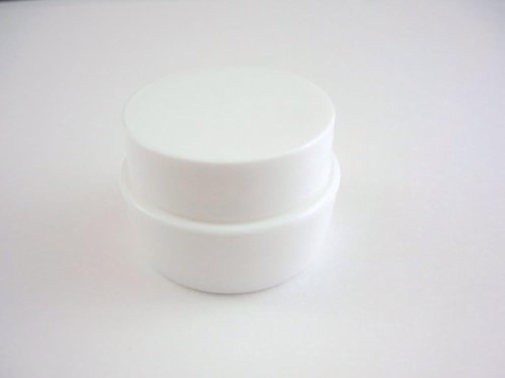 日光事務所降臨ジェル空容器 3ml   ホワイト 10個セット