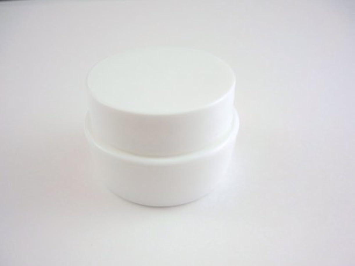 ほとんどない共和国前にジェル空容器 3ml   ホワイト 10個セット