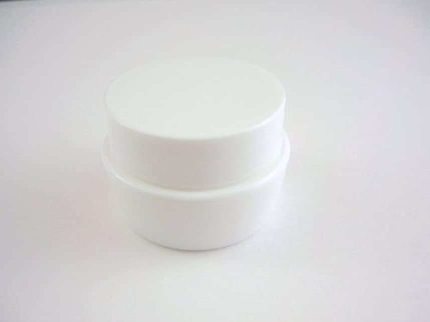 とてもジョリー逸話ジェル空容器 3ml   ホワイト 10個セット