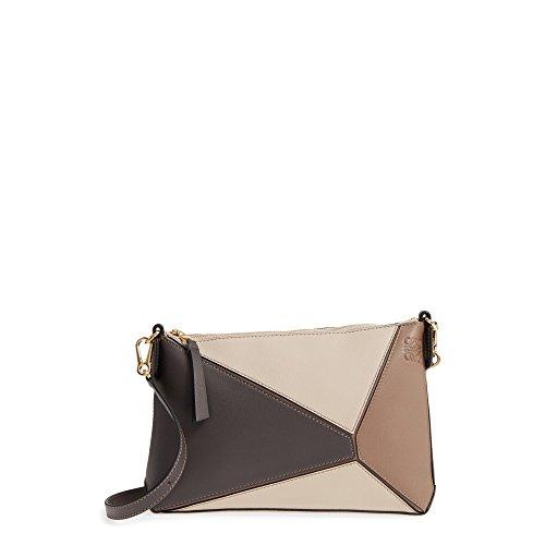 (ロエベ) LOEWE レディース バッグ ショルダーバッグ Mini Puzzle Calfskin Leather Crossbody Bag [並行輸入品]