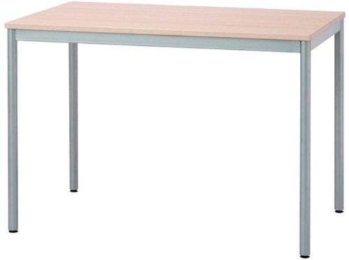 ナカバヤシ テーブル オフィスデスク 100x60cm ナチュラル木目 HEM-1060NM