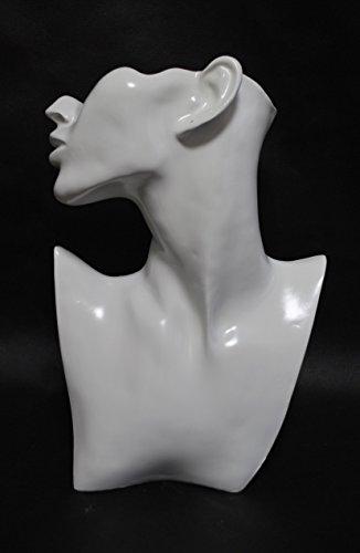 [해외]귀걸이 스탠드 JW-FACEW 흰색 (광택)/Piercing Stand JW - FACEW White (luster)