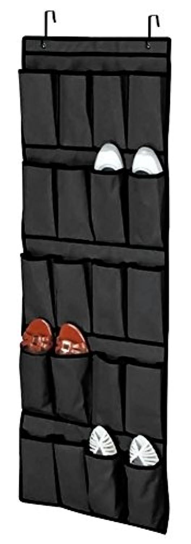 Coco *ストア20ポケットover theドア靴オーガナイザースペース節約ラックHangingストレージハンガー 25*16cm/9.8*6.3
