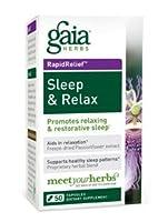 Gaia Herbs - Sleep & Relax 50 caps (Pack of 2) by Gaia Herbs